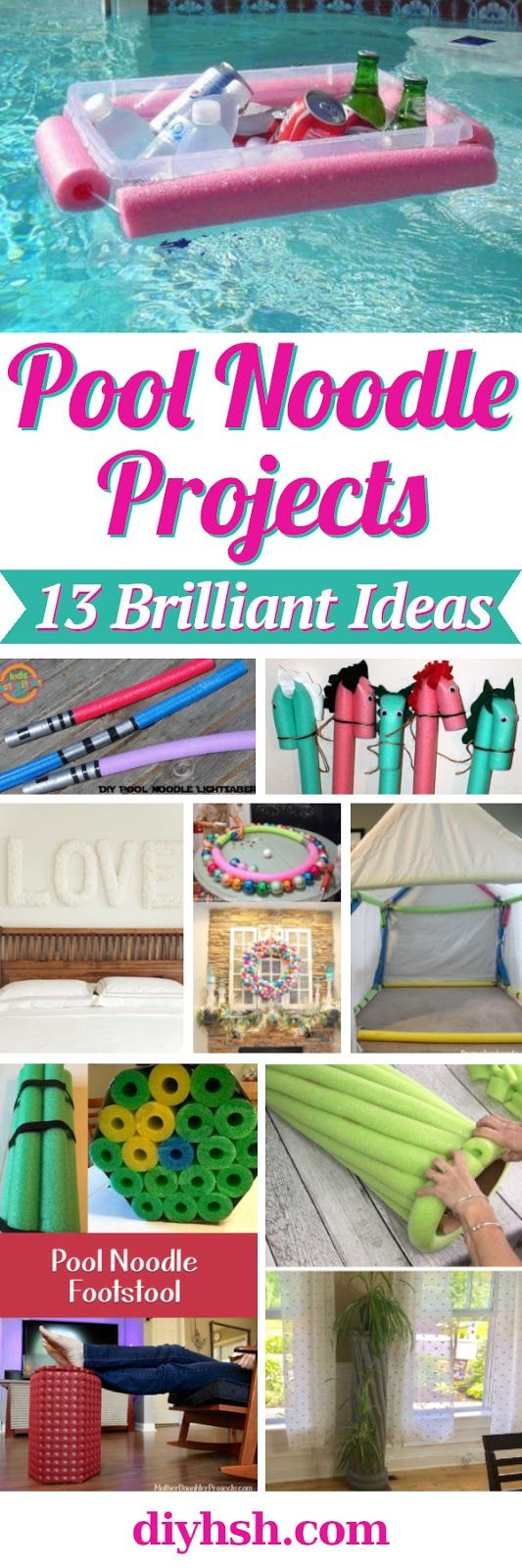 13 Creative Uses For Pool Noodles Basteln