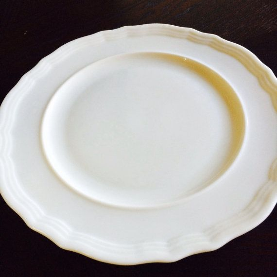 Lenox China Plates Made In Usa Bread Or Dessert By Acertainfeel