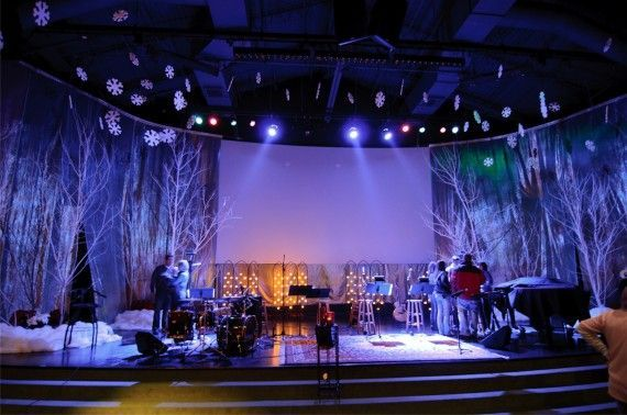 winter stage lighting design ideas - Google Search   christmas ...