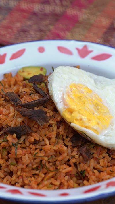 Nasi Goreng Minang Resep Resep Dendeng Sapi Resep Makanan Resep Masakan