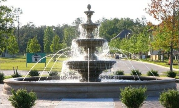 architectural fountains 20' diameter