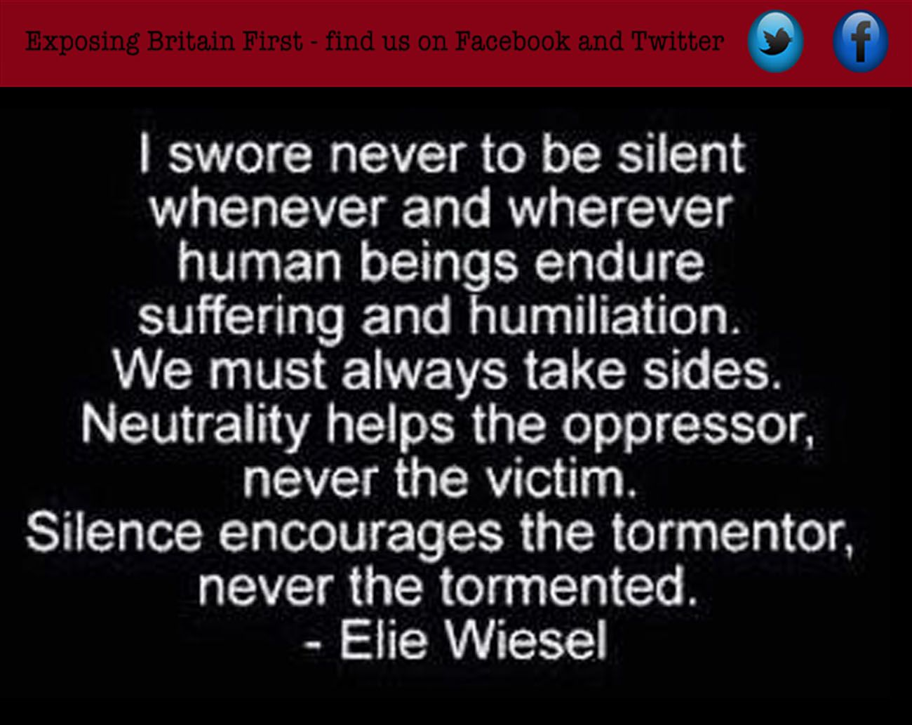 Holocaust Survivor Quotes If You Choose Silence You Are On The Side Of The Oppressor  Share