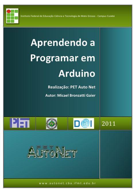 Apostila Para Programar Arduino Programacao Arduino