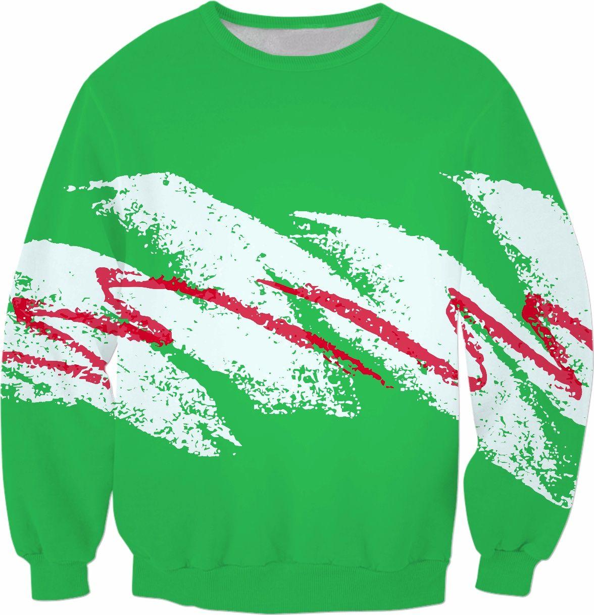 Vaporwave Christmas Sweater.Vaporwave Paper Cup Green Ugly Christmas Sweater Christmas