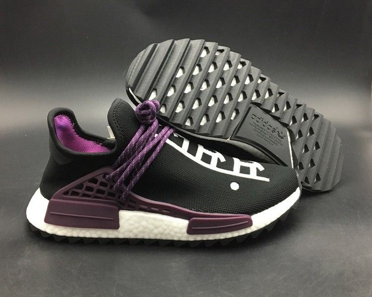51f843fb7 Legit Cheap Pharrell adidas NMD Hu Trail Equality Core Black Deepest Purple