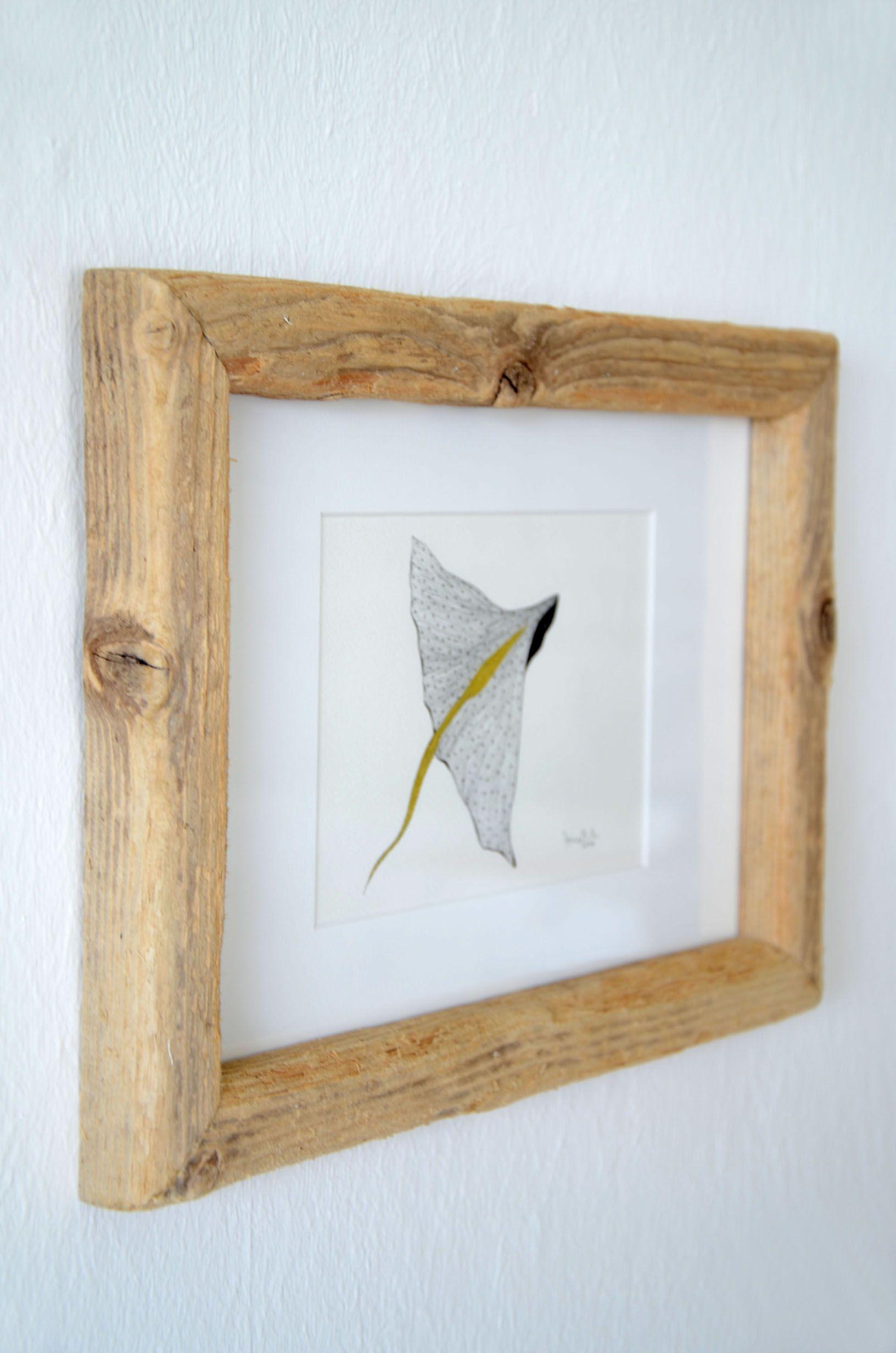 Treibholz-Bilderrahmen SEA FRIEND ~ driftwood picture frame Das Bild ...