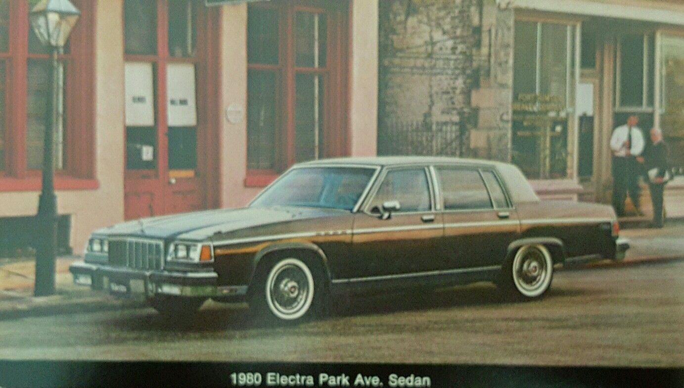 1980 Buick Electra Park Avenue Buick Park Avenue Buick Electra