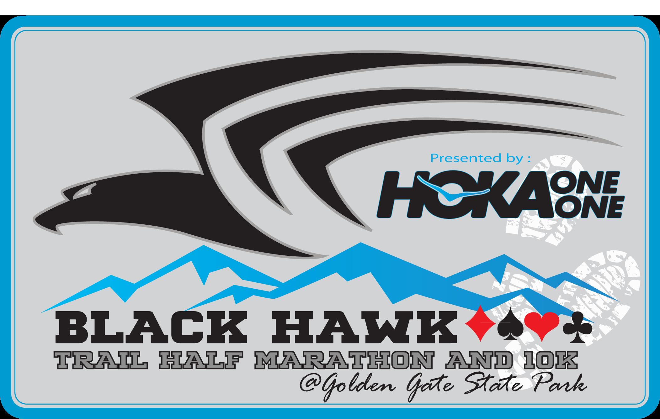 Endurance Race Series - BLACK HAWK TRAIL 1/2 MARATHON, 10K.  July 31,2016.