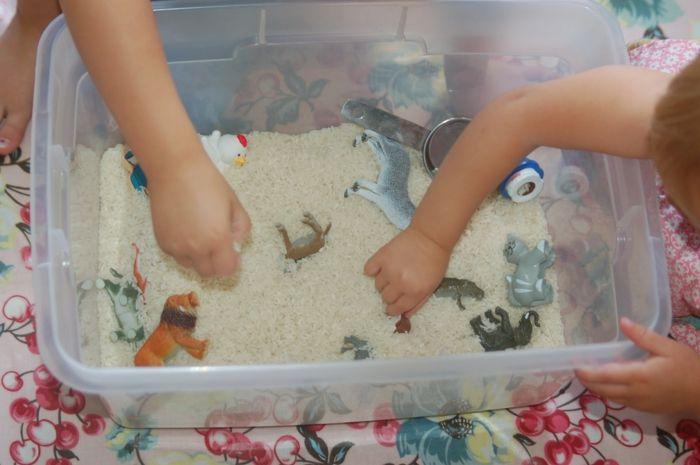 basteln mit kindern bastelideen diy ideen kinderspiele wasser tastenbox - Do It Yourself Kinder Kopfteil Ideen