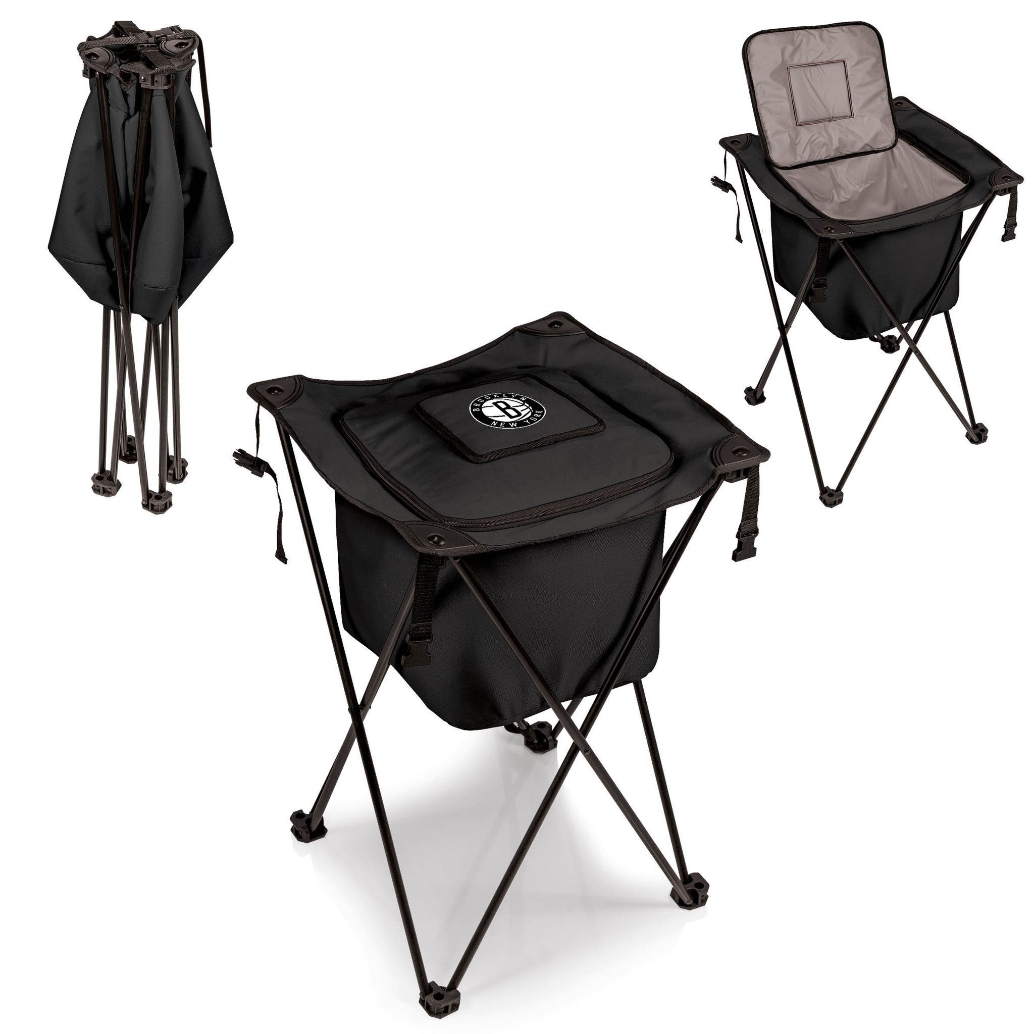 Brooklyn Nets Portable Cooler - Sidekick by Picnic Time