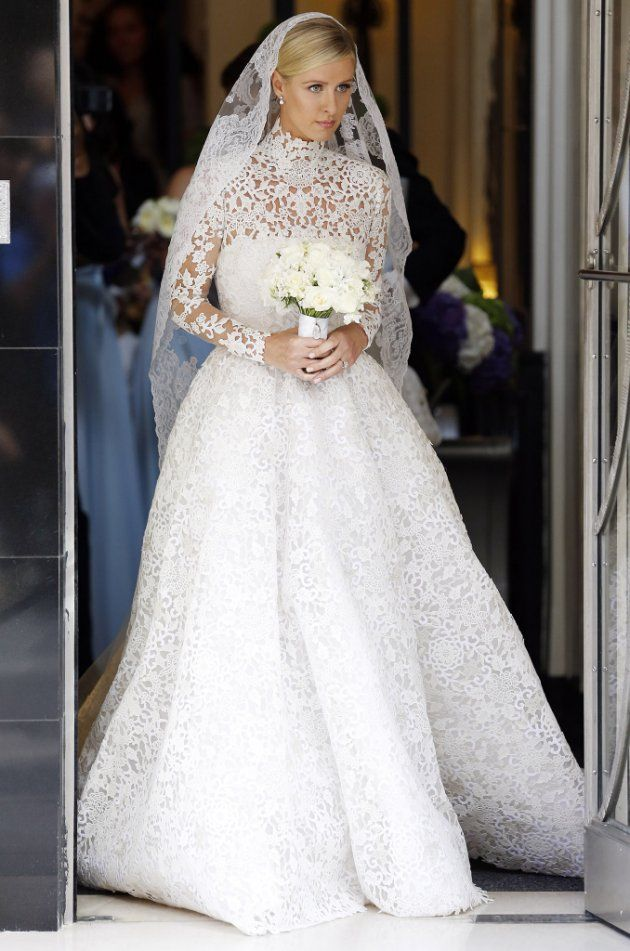 Here comes the bride... (Getty Images)