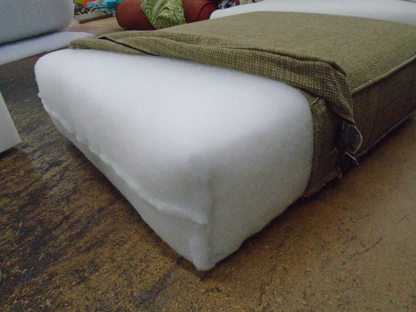 Foam Cushion With Dacron Wrap Foam Cushion Replacement Cushions