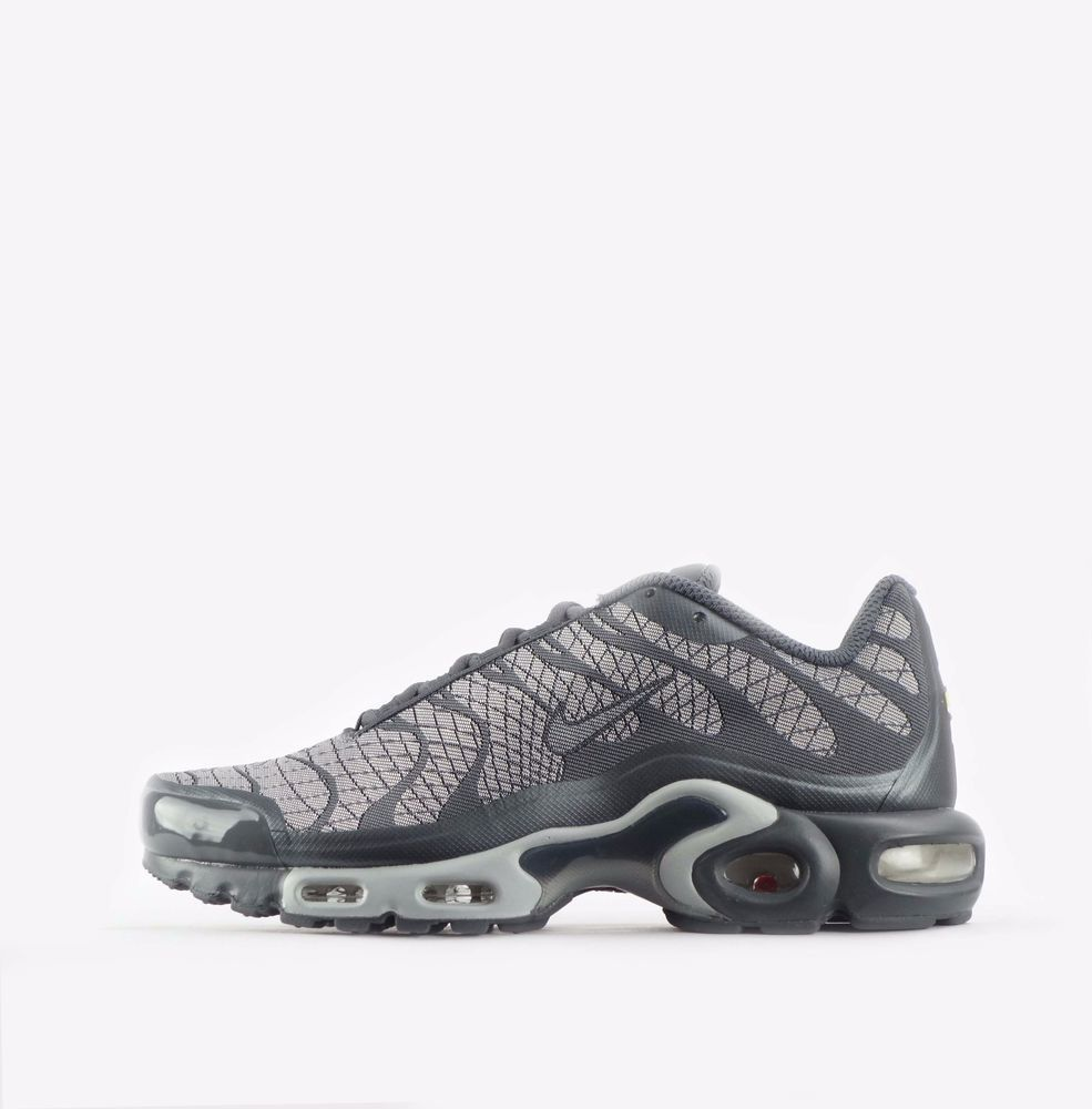 huge selection of 70029 814eb Nike Air Max Plus Jacquard TN Tuned Mens Shoes in White Wolf Grey  Nike   CasualTrainers