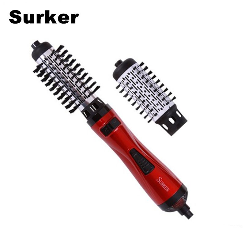 Surker New Styling Tools 2 In 1 Multifunctional Hair Dryer Automatic Rotating Hair Brush Roller Styler Eu Plug B Hair Dryer Comb Rotating Hair Brush Hair Brush