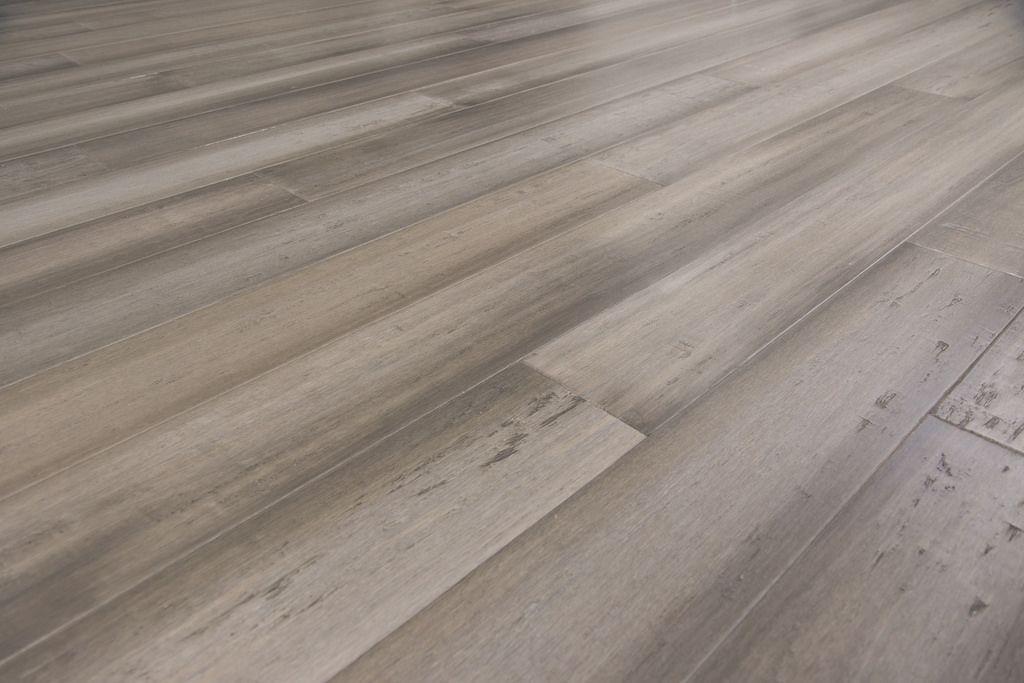 Catalina Grey Wood Flooring Tongue And Groove Bamboo Sample In
