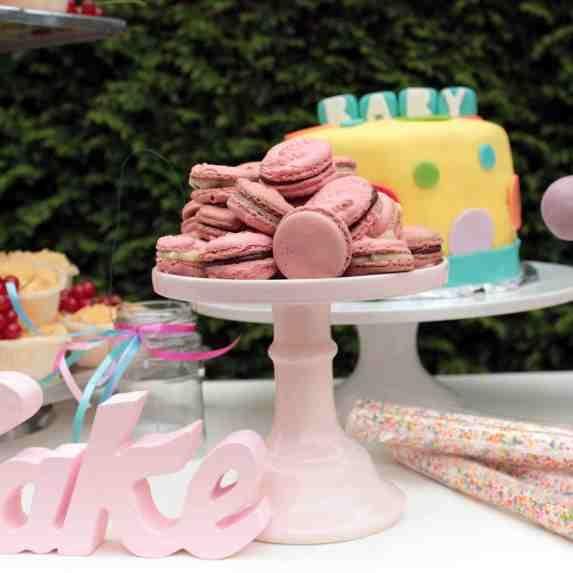 #Baby #Shower #Party Swee table auch schön für eine Taufe MyPinkParty.de dekoshop www.helavik.de