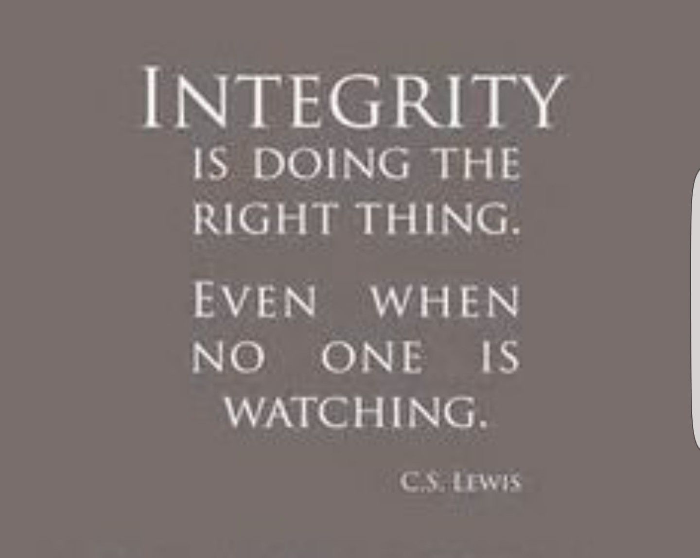 Pin By Katri Smith On Words Integrity Quotes Integrity Quotes Character Ethics Quotes