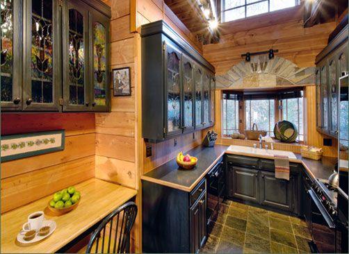 beautiful kitchen at winterwood lakeside cottage in eurekasprings rh pinterest com  winterwood lakeside cottage eureka springs
