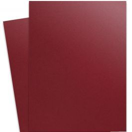 Curious Metallic Red Lacquer 27x39 Full Size Card Stock Paper 111lb Cover Red Lacquer Card Stock Metallic Paper