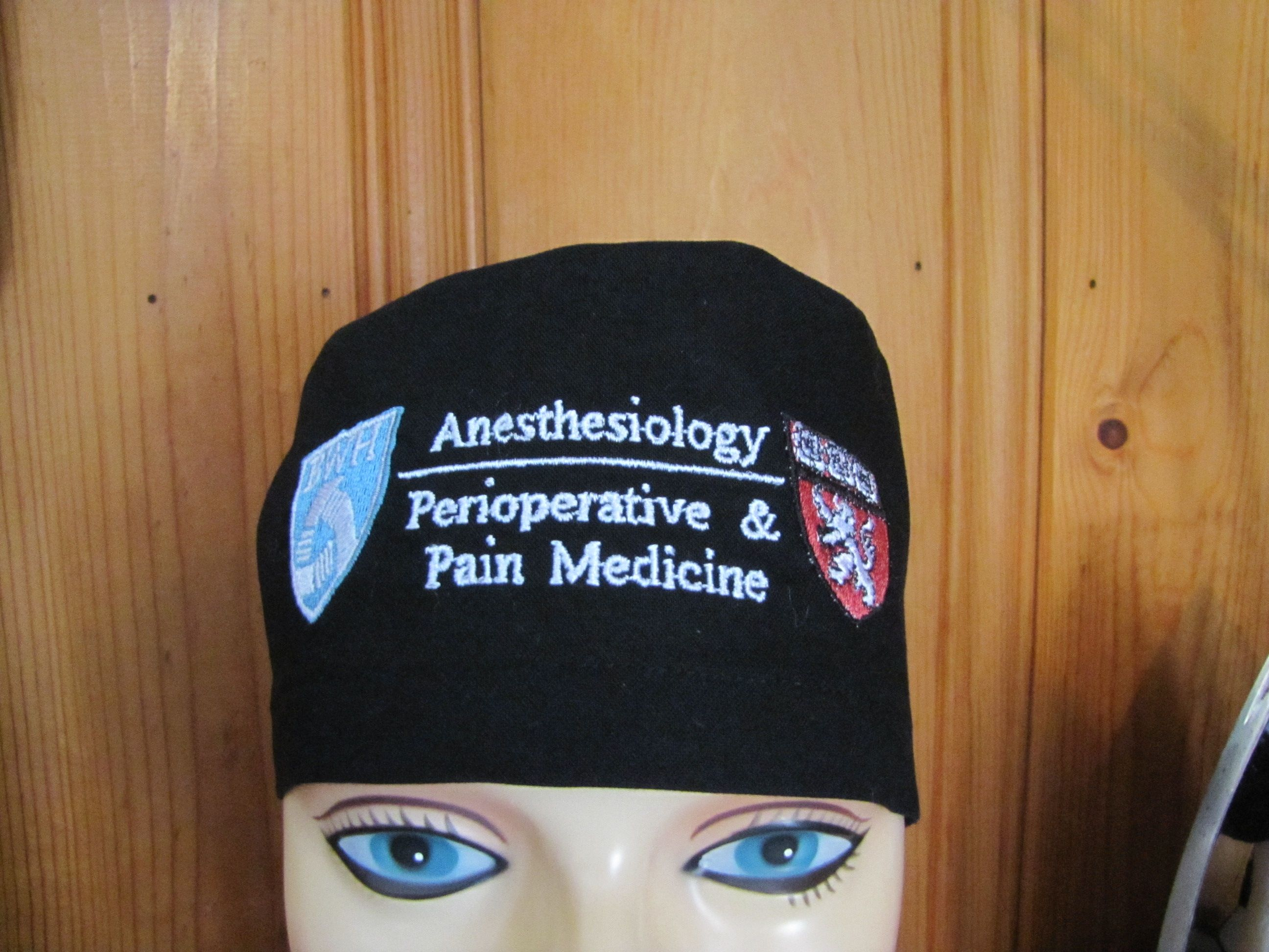 BWH Harvard Anesthesiology custom surgical caps  8869ad553c8