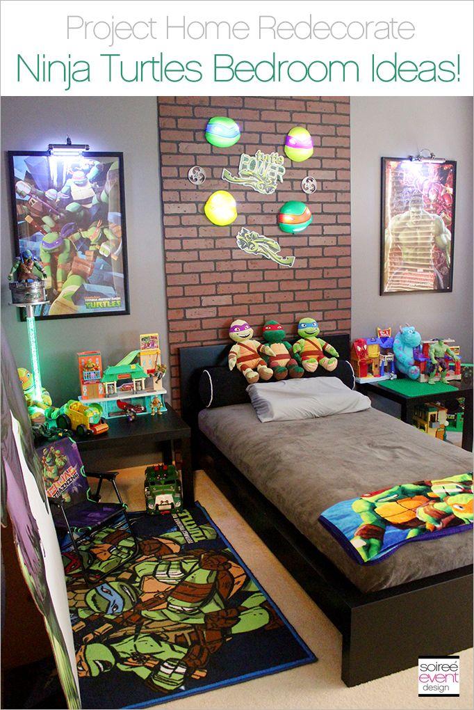 Project Home Redecorate Ninja Turtles Bedroom Ideas  Project Home Redecorate  Ninja turtle