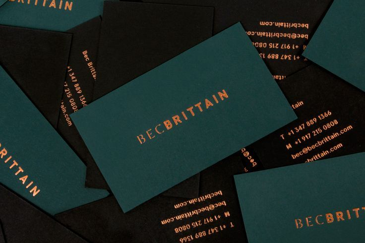 New Brand Identity for Bec Brittain by Lotta Nieminen  BP&O is part of Business card design, Business card inspiration, Business cards creative, Innovative business cards, Luxury business cards, Card design - Logo, duplex business cards and foiled catalogue by Lotta Nieminen for New York based lighting and product designer Bec Brittain  Opinion by Richard Baird