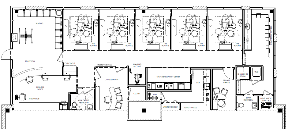 Pin by David Hashemi on My Dental Office Floor Plans ...