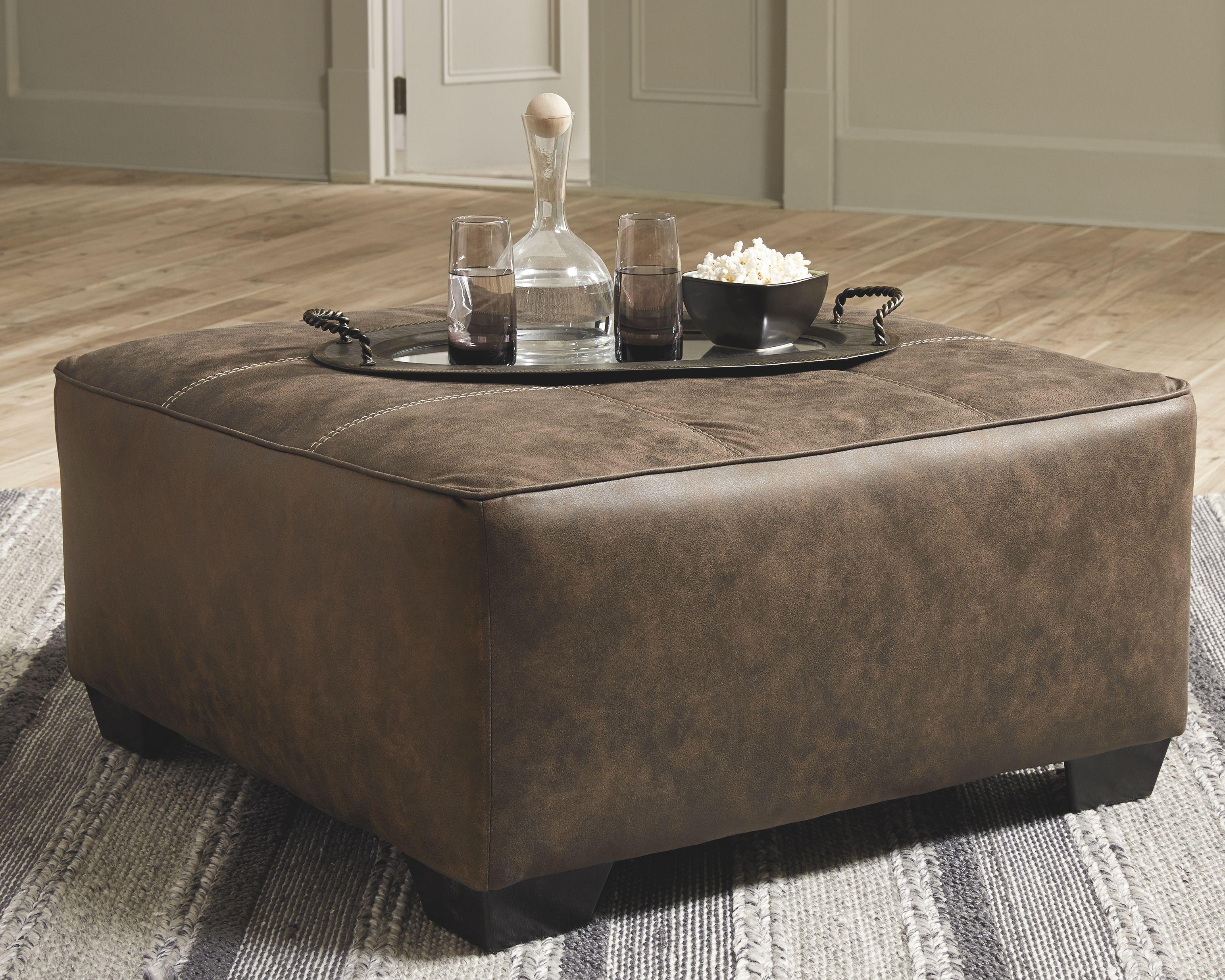 Abalone Oversized Accent Ottoman Ashley Furniture Homestore Leather Ottoman Coffee Table Accent Ottoman Ottoman [ 2470 x 3087 Pixel ]