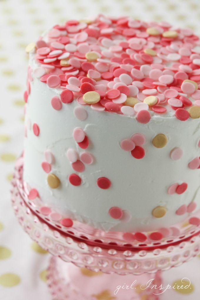 Confetti Cake Best Of Pinterest Pinterest Cake Birthday Cake