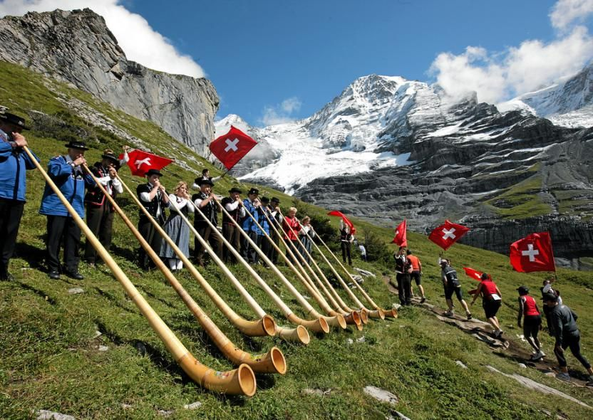 Jungfrau Marathon. The Jungfrau Marathon is one of the best known mountain marathons in the world, in full view of the famous Eiger, Mönch, and Jungfrau mountains in the Bernese Oberland area of the Swiss Alps.