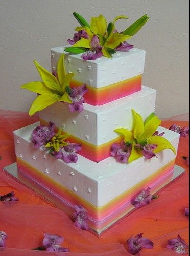 deco de mariage orange tropicale mariage tropical gateau mariage et tropical. Black Bedroom Furniture Sets. Home Design Ideas