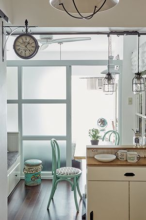 Filled With Diy Details And Customized Pieces This Quaint One Bedroom Condo Brings Labor Of L Condo Interior Condo Interior Design Condominium Interior Design