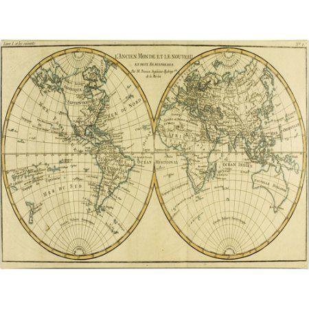 Geneva World Map
