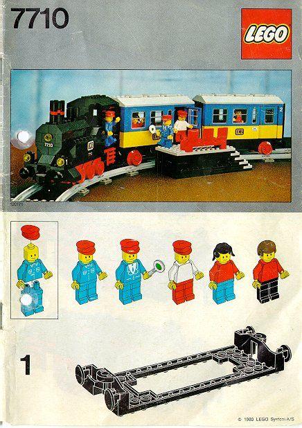 Trains Push Along Passenger Steam Train Lego 7710 Lego Fun