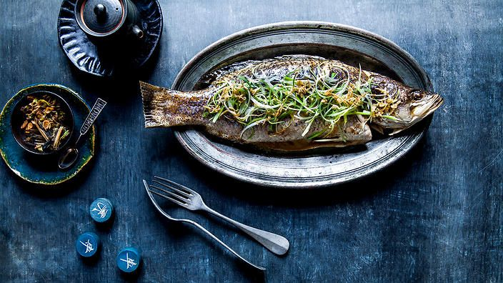 Steamed whole fish with ginger and shallot | Chinese recipes | SBS Food