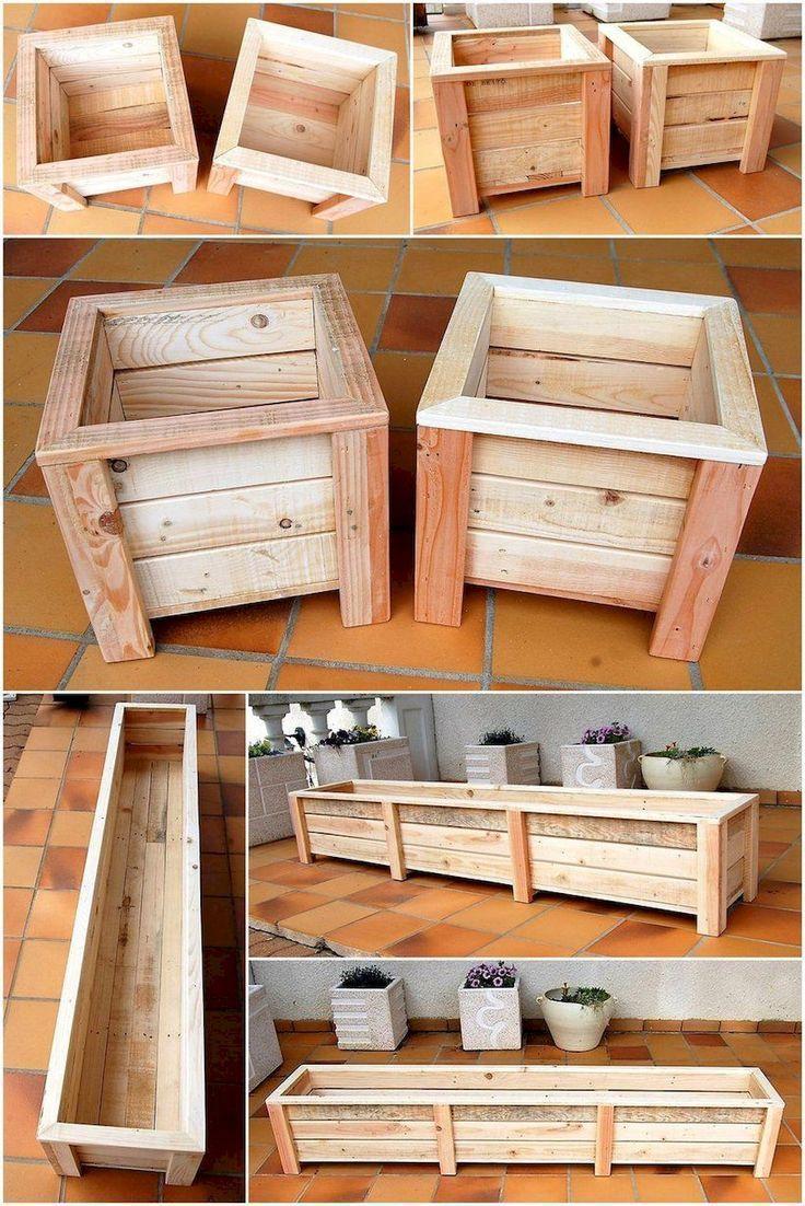 55 Simple Diy Pallet Venture Dwelling Decor Concepts Palletpatiofurniture Furn En 2020 Projets En Bois De Palette Meubles De Patio Palette Idees De Meubles