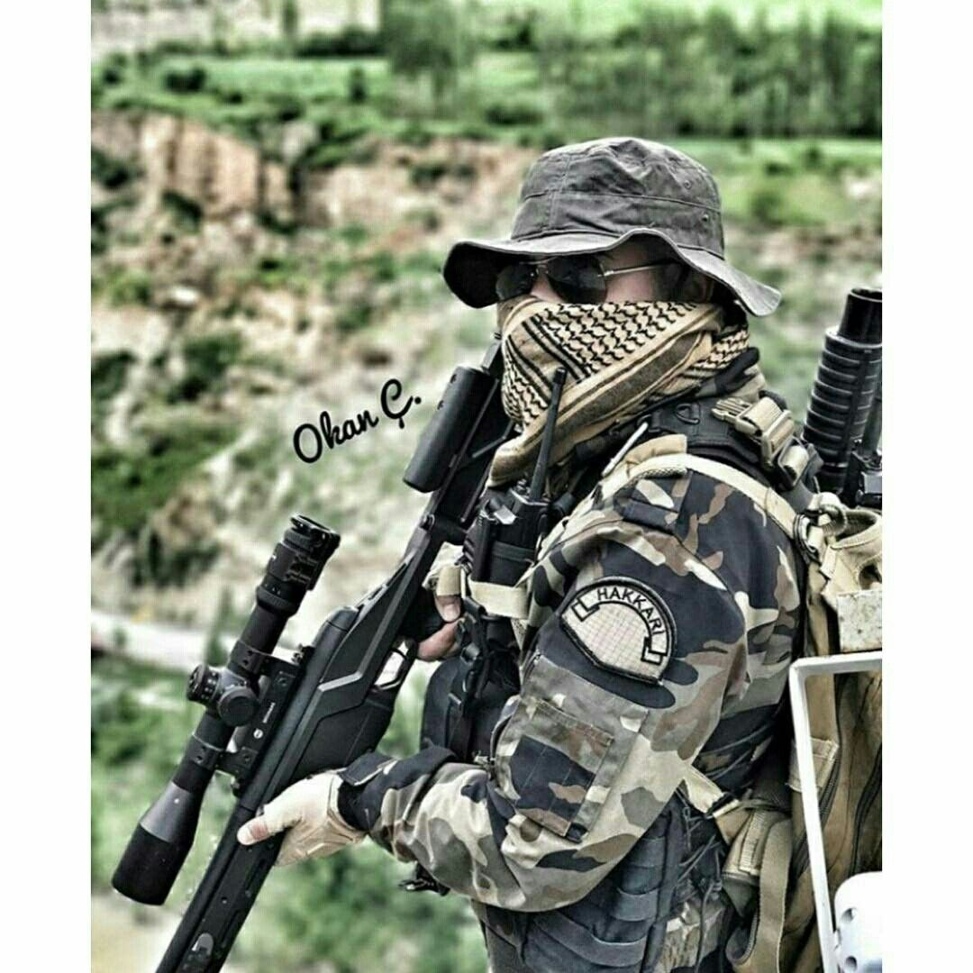 Turkey Special Operation Police PÖH Sniper Hakkari