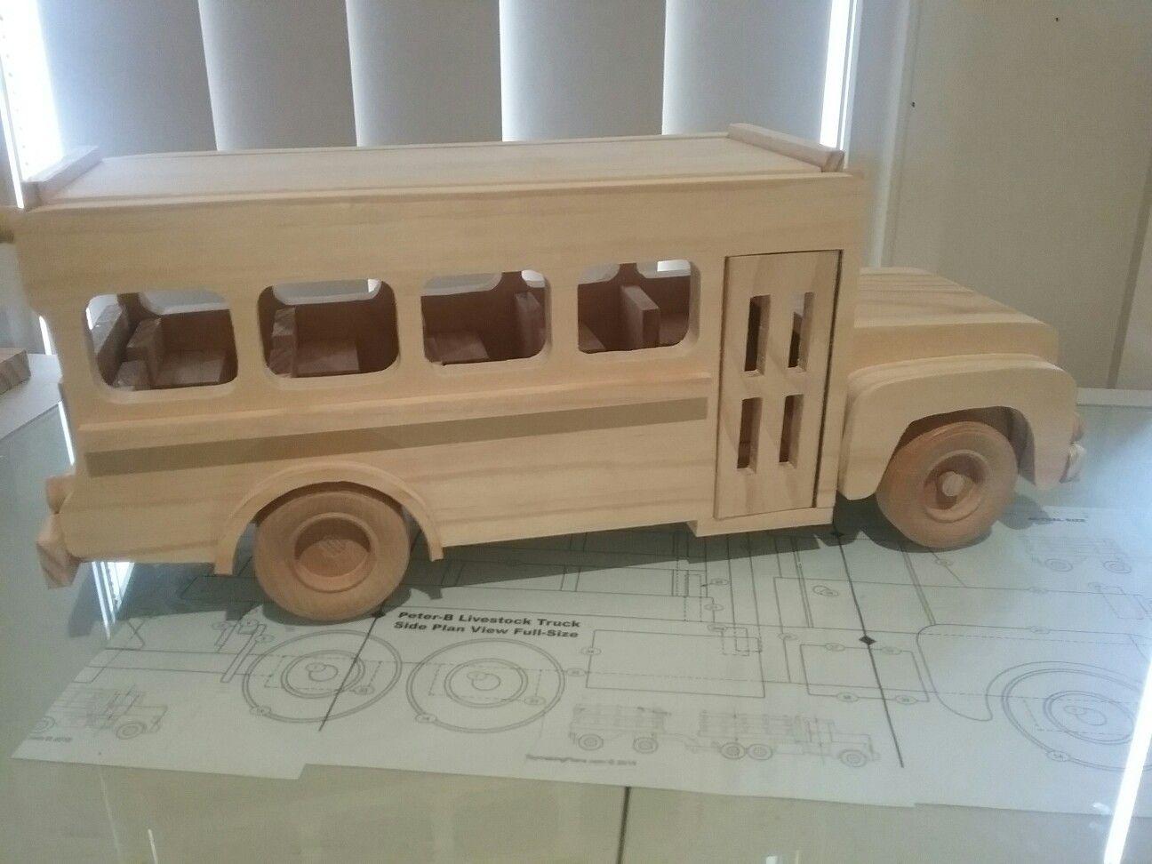 School bus Toymakingplans.com