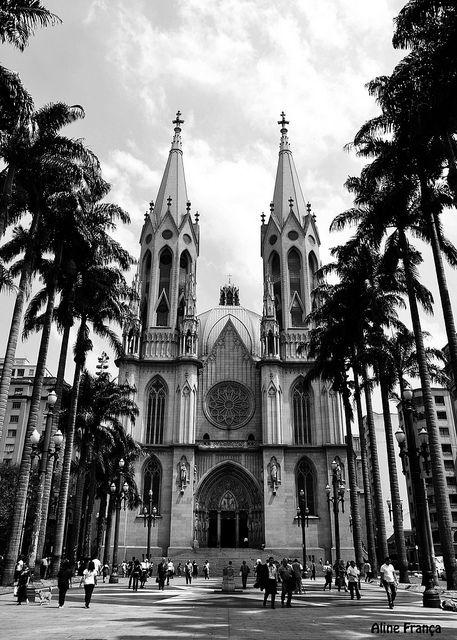 Catedral da Sé. por Aline França*, via Flickr
