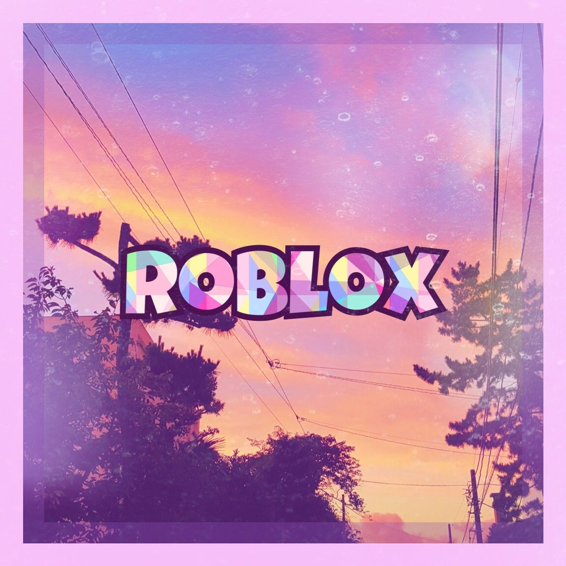 Aesthetic Pink Roblox Gfx In 2020 Cute Tumblr Wallpaper Roblox Pictures Roblox
