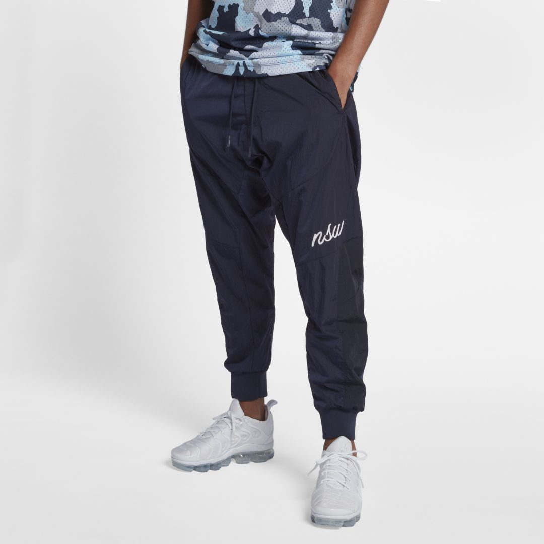 9868256f8200 Nike Sportswear NSW Men s Woven Joggers Size XL (Obsidian ...
