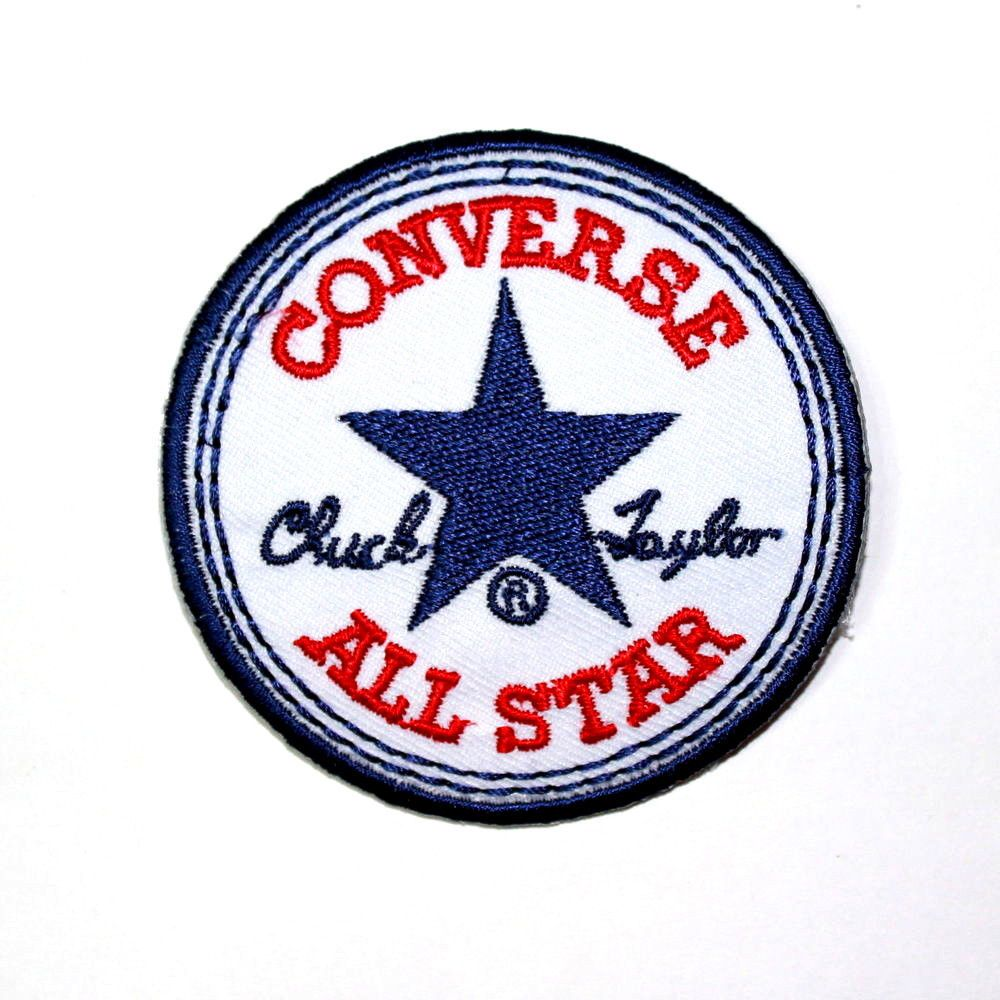 Converse All Star Biker Punk Skater Sports Clothing Emblem Applique