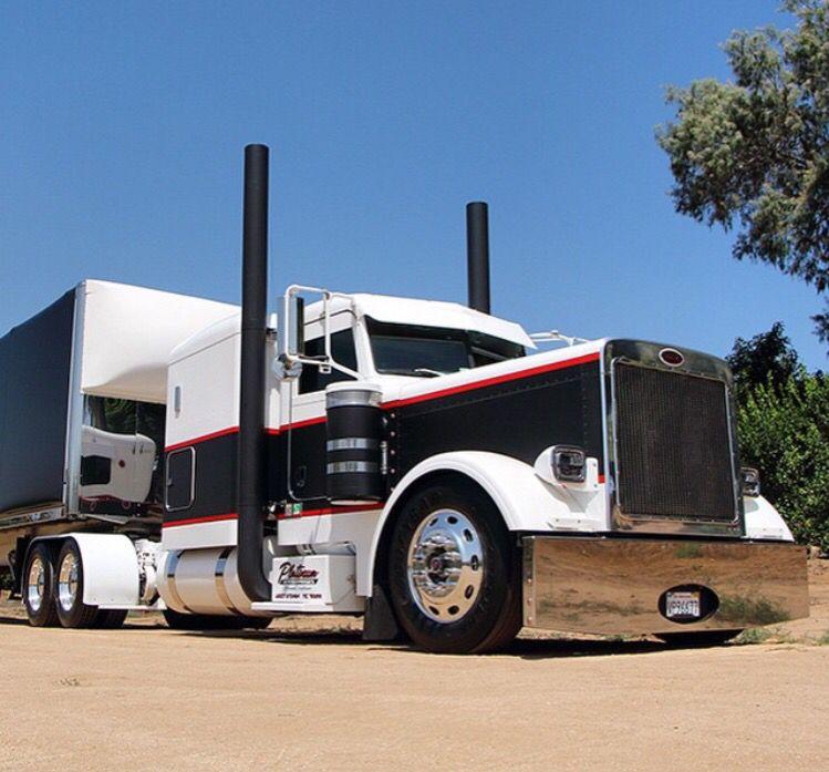 JDT Truckings Peterbilt 379 | Big Rigs | Pinterest | Peterbilt 379 ...