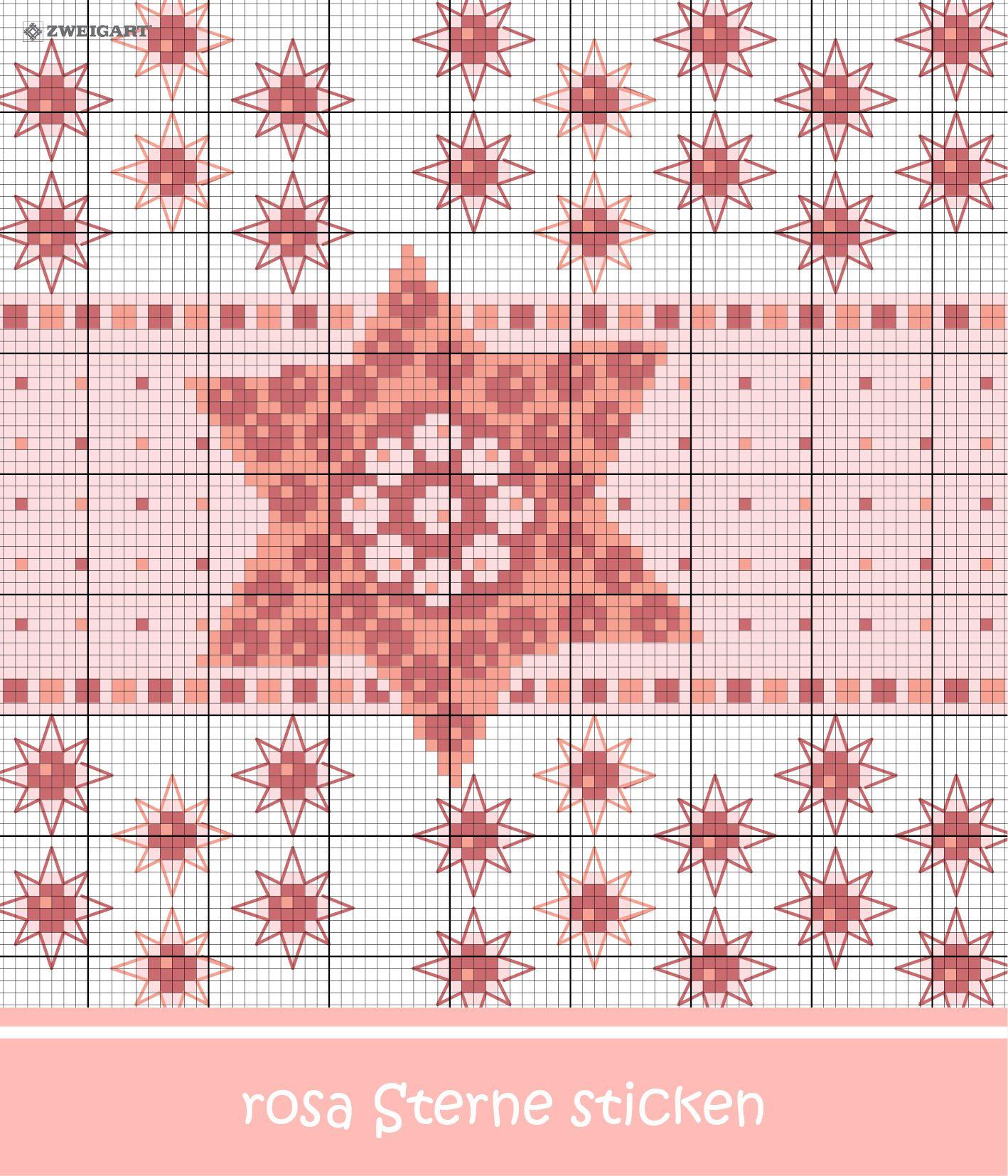 Weihnachtliche Sterne sticken - Entdecke zahlreiche kostenlose ...