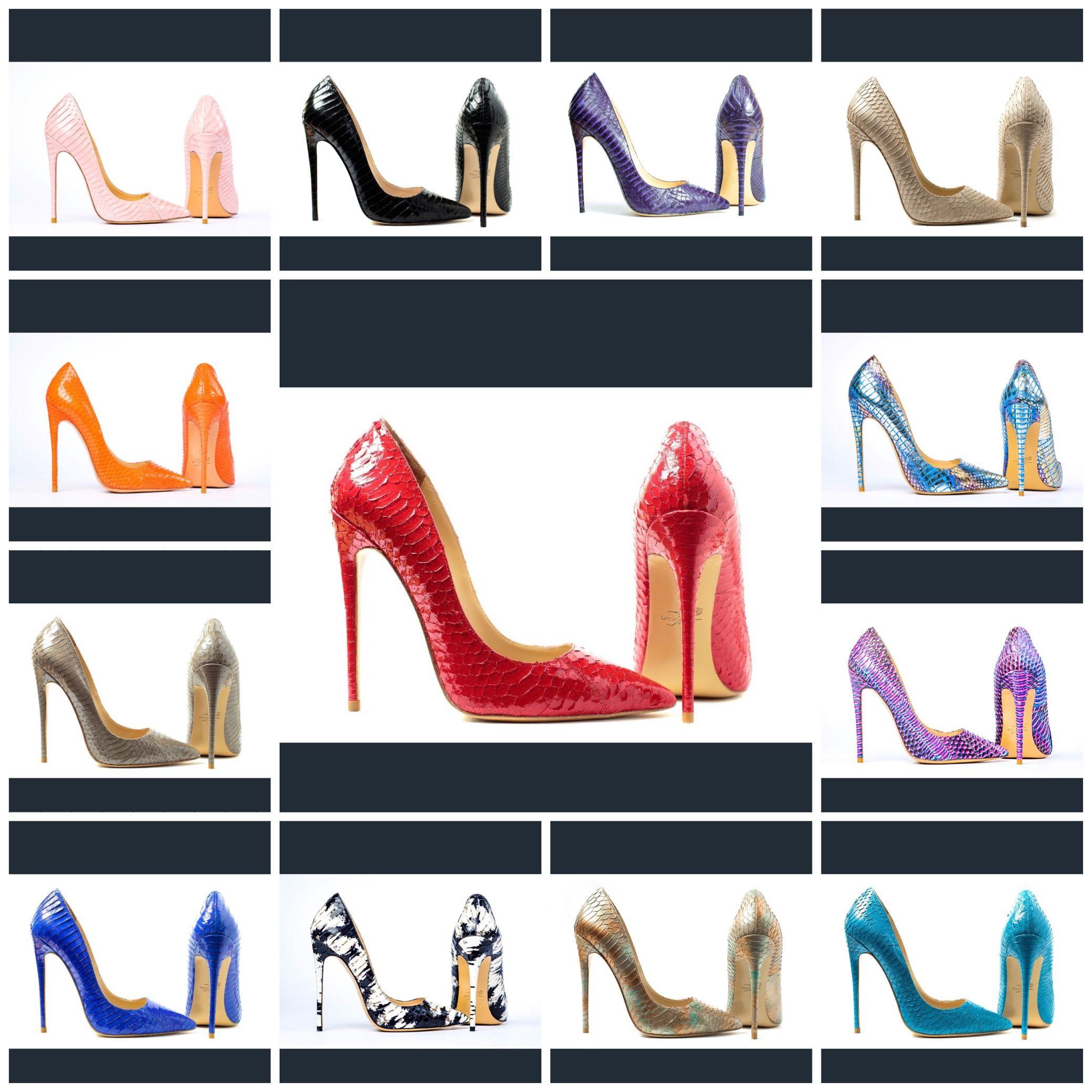 2a20a8df715 Silvia Matei snakeskin stilettos | SilviaMateiShoes | Snake skin ...