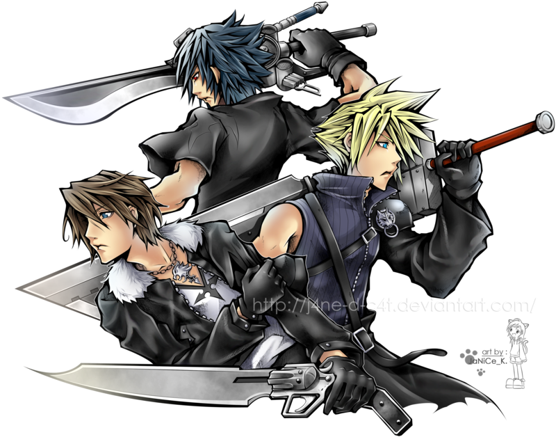 Squall Cloud Noctis by on