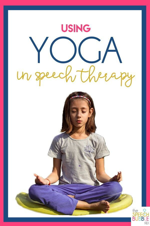 Incorporating Yoga Into Speech Therapy Ever wonder how to incorporate YOGA into your speech therapy
