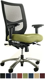 Yes Series Office Chair With Mesh Back Memory Foam Seat