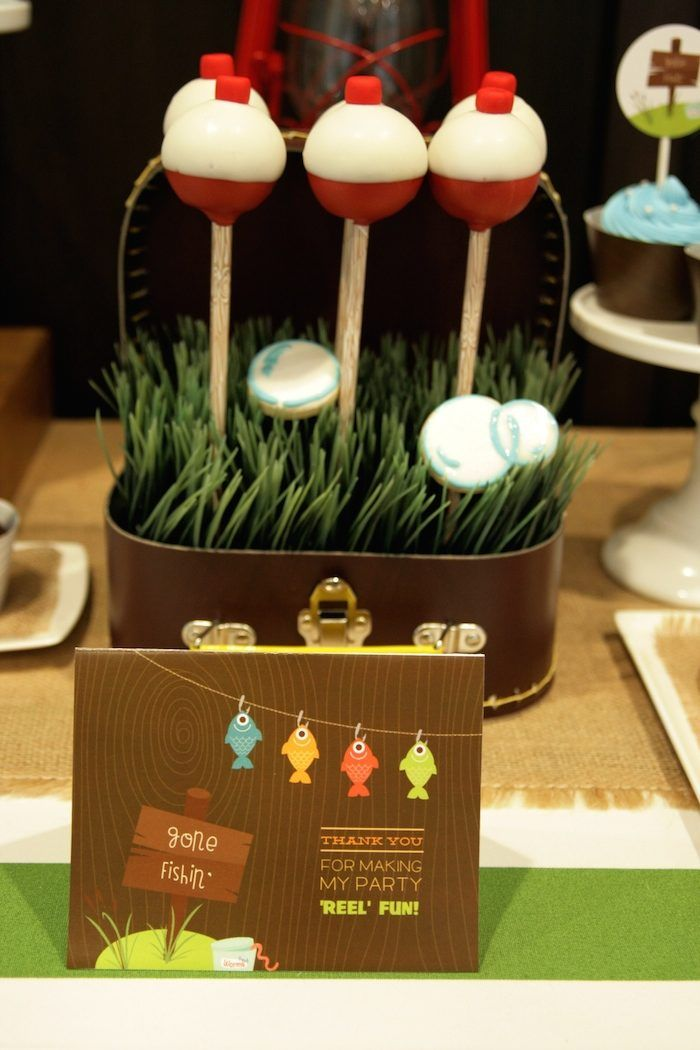 Gone Fishing birthday party by Tanias Design Studio Featured on
