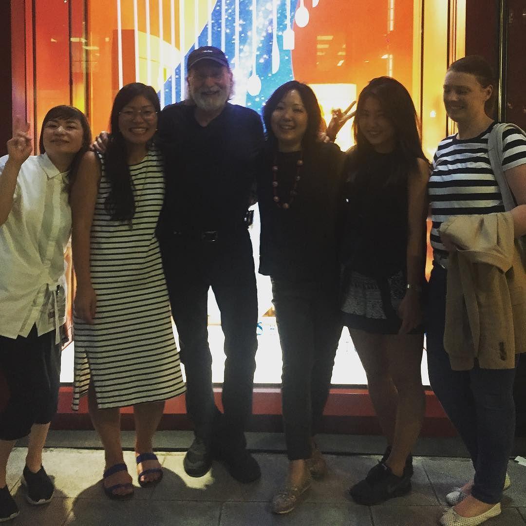 Bob and the ladies #unclebob #rgatokyo  #tokyo @rgaofficial